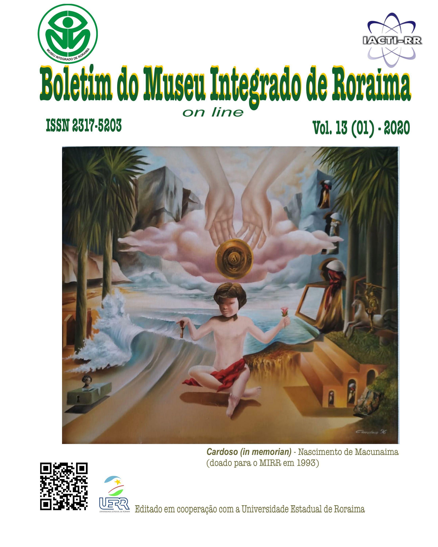 Visualizar v. 13 n. 01 (2020): Boletim do Museu Integrado de Roraima - MIRR